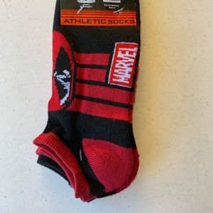 Deadpool socks NWT